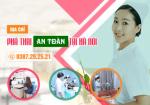 Phòng khám phá thai an toàn tại Hà Nội