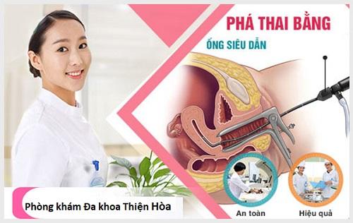 Phá thai bằng ống siêu dẫn