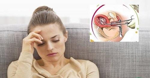 nong gắp thai có đau không